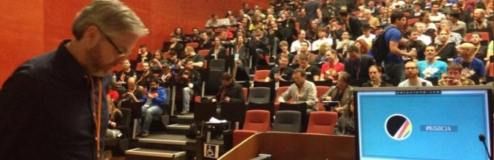 NZGDC14 Keynote by Dave Brevik, Gazillion Games