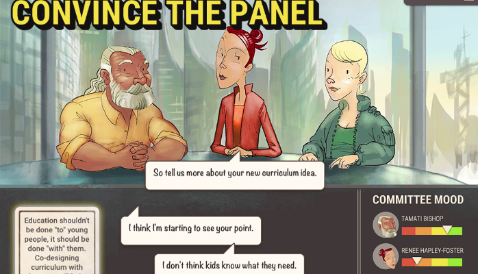New digital game on the future curriculum