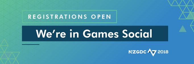 We're in Games Social – Registrations Open