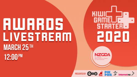 Kiwi Game Starter 2020 Winners to be Announced by Livestream!