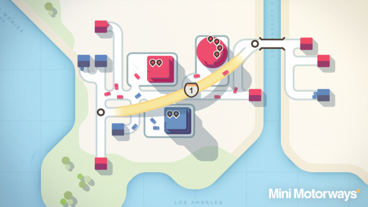 Mini Motorways Takes #1 Spot on the Steam Top Sellers Charts!