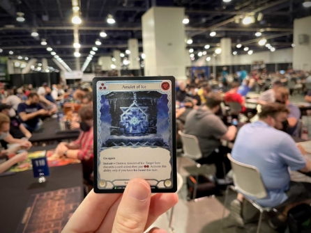 1000 players at Las Vegas World Premiere of Kiwi Trading Card Game Flesh and Blood